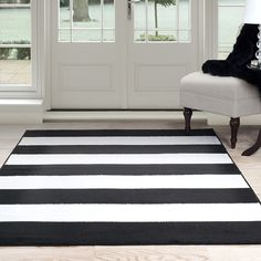 Liven up your living space with the Breton Stripe Area Rug. Cover up any blemishes in your carpet or make your hardwood floors feel cozy with the soft and luxurious feel of an area rug. Product Featur