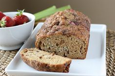 Fake Food Free: Strawberry Rhubarb Bread