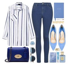 """Blue Details"" by genuine-people ❤ liked on Polyvore featuring Paul Andrew, Mulberry, Christian Dior, Bella Bellissima, Kendra Scott, Korres, Givenchy, Luv Aj, Smythson and women's clothing"