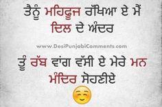 Tu Mera Rabb - Punjabi Love Status
