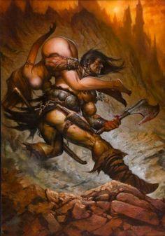 Greg Staples - Conan The Barbarian