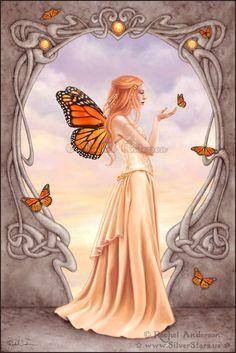 Birthstone fairies Citrine Fairy by Rachel Anderson