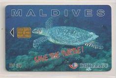 Delcampe - The greatest marketplace for collectors Maldives, Turtle, The Maldives