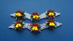 Ähnliche Artikel wie Set von 6 quilling Ornamente/Quilling Christmas Ornamente/Handmade quilling Ornamente / Christmas Decor/Quilling Decor auf Etsy