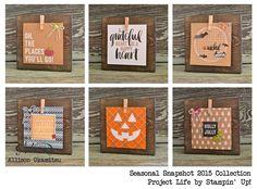 nice people STAMP!: Project Life by Stampin' Up! - Seasonal Snapshot 2015: Stampin' Up! Artisan Blog Hop - SU
