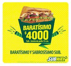 Ven a los restaurantes Subway® y dale más sabor a tu …ALAMEDAS CENTRO COMERCIAL