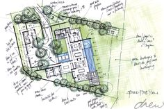 gallery of drew' residential projects Barn Homes, Modern Landscaping, House Floor Plans, Sketchbooks, Architects, Initials, Diagram, Sketches, Houses