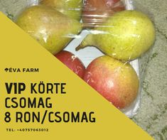 8 ron / csom Fresh Fruits And Vegetables, Pear, Packaging, Canning, Food, Essen, Meals, Wrapping, Home Canning