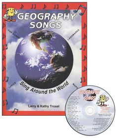 This is the best way to teach geography to your kids.  I love it!