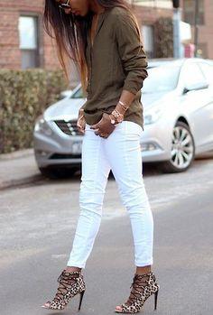 GET INSPIRED: Λευκό Παντελόνι! 50 Stylish Οutfits Μας Δείχνουν Πως να το Φορέσουμε!