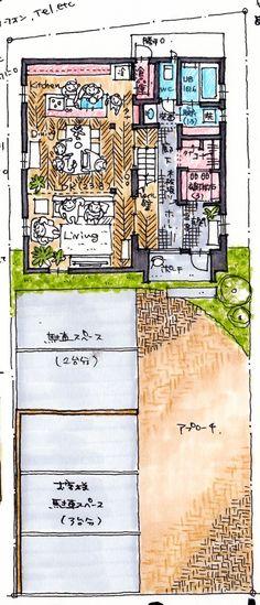 けいかく中 – Suzuya House – - 名古屋市の住宅設計事務所 フィールド平野一級建築士事務所