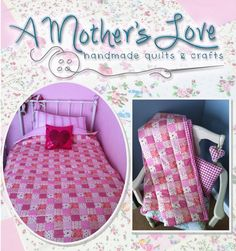 Single Pink Patchwork Effect Quilt - The Supermums Craft Fair