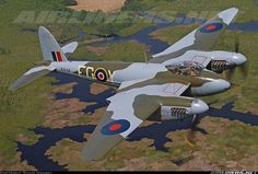 De Havilland DH-98 Mosquito FB26 aircraft picture