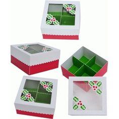 Silhouette Design Store - View Design #50053: box christmas ornaments