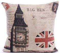 Caryko Home Decor Cotton Linen Square Pillow Case Cushion Cover (Big Ben) Caryko http://www.amazon.com/dp/B00ZIYBU3E/ref=cm_sw_r_pi_dp_9BWEvb0HDNCGX