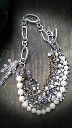 Got to have faith- Boot Bling- Bracelets for your boots on Etsy, $40.00