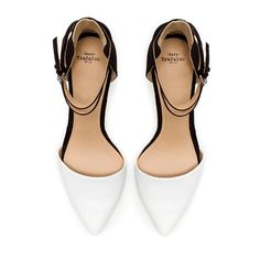 VAMP SHOE WITH ANKLE STRAPS - Shoes - TRF | ZARA United States