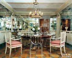 Modern Dining Room by Studio Peregalli and Studio Peregalli in Milan, Italy