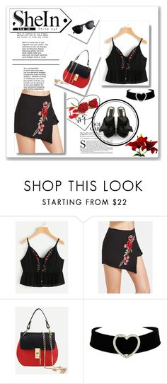 """shein ]]]]]]"" by georgine-d ❤ liked on Polyvore"