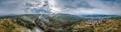 Black Forest Aerial Panorama by Jörg Schumacher | einfachMedien.de on 500px