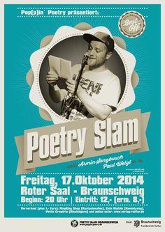 Neuestes Poetry Slam Poster