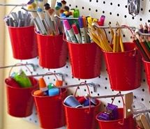 inspiring picture buckets, craft, craft room, craftroom, crafts, decorating. resolution: 333x499 px.