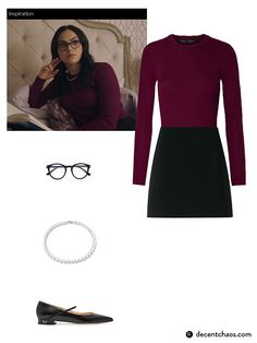 Veronica Lodge style Veronica Lodge inspired outfit - Outfits for Work - Veronica Lodge style Veronica Lodge inspired outfit - Veronica Lodge Outfits, Veronica Lodge Fashion, Veronica Lodge Style, Tv Show Outfits, College Outfits, Cute Outfits, Veronica Lodge Aesthetic, Riverdale Halloween Costumes, Veronica Lodge Riverdale