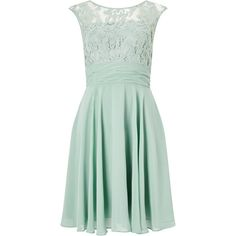Adrianna Papell Filigree Lace Chiffon Dress, Celadon ($180) ❤ liked on Polyvore featuring dresses, long-sleeve mini dress, long-sleeve midi dresses, maxi dresses, green lace dress and lace sleeve dress