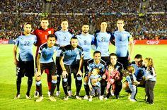 EQUIPOS DE FÚTBOL: SELECCIÓN DE URUGUAY contra Argentina 31/08/2017 Clasificación Mundial