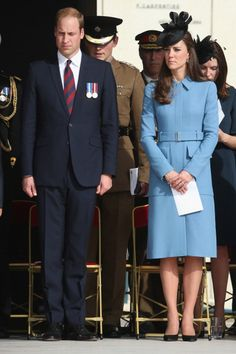 Prince William Duke of Cambridge and Catherine Duchess of Cambridge attend normandy veterans association commemoration of d day 70 years on in arromanches News Photo 450178856
