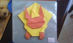 Pokemon Origami- Flareon by ~Orchidstorm on deviantART