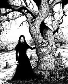 Witch Tree by MonsterMansion.deviantart.com