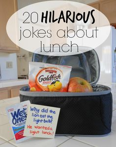 20 hilarious jokes about lunch! Just in time for back to school. #wishihadwetones