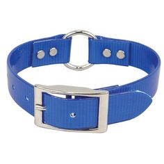 OmniPet 3/4 x 18-Inch Sunglo Ring-in-Center High Flex Dog Strap, Blue >>> For more information, visit image link. (This is an affiliate link and I receive a commission for the sales) #DogTrainingAids