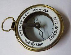 Nautical Brunton Mirror Level Compass GPS Vintage Marine Compass Working Model