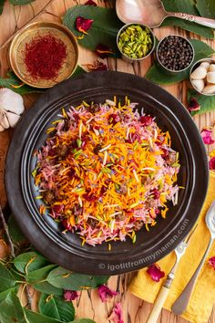 I share with you my Albaloo Polo recipe - This colourful and fragrant Persian saffron rice with sour cherries and meatballs is a must try! Turkish Recipes, Persian Recipes, Ethnic Recipes, Cherry Rice Recipe, Polo Recipe, Persian Rice, Saffron Rice, Food Vids, Sour Cherry