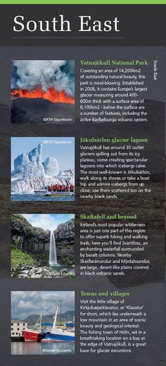 Highlights of South East Iceland - discover more in our Iceland & Greenland brochure: http://view.intellimag.com/go/dtw-iceland-greenland/