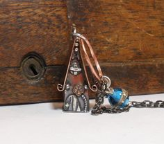 The Original Miniature Handmade Copper Fairy House by StudioJewellerybyJo on Etsy