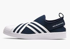 White Mountaineering adidas Superstar Slip-On | SneakerNews.com