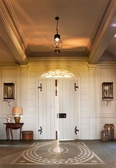 John B. Murray Architect: Recent Work Doors for outside doors on barn house. With the indian head handles Interior And Exterior, Interior Design, Entry Hallway, Entry Doors, Beautiful Interiors, Windows And Doors, Architecture Details, My Dream Home, Decoration
