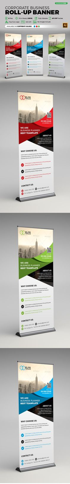 43 Pull Up Banner Ideas Roll