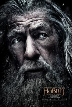 Gandalf Poster for THE HOBBIT: THE BATTLE OF THE FIVE ARMIES