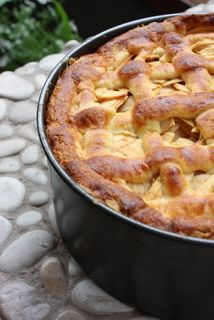 Dutch apple pie, appelgebak, appeltaart