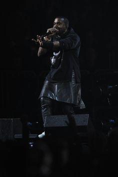 Kanye West's Leather Kilt