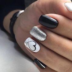 44 + Arten von Make-up-Nägeln Art Nailart 134 - Nagel Kunst tipos de maquiagem arte de unhas arte de unhas 134 # 134 # Unhas de maquiagem de unha Best Nail Art Designs, Acrylic Nail Designs, Gel Nail Art, Gel Nails, Acrylic Nails, Glitter Nails, Nail Polish, Nail Nail, Coffin Nails