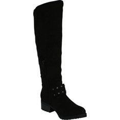 L & C Christoph-03 - Tan with FREE Shipping & Returns. The Christoph-03 is a knee high boot with a round toe and a traction