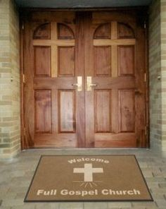 Full Gospel Church Entrance Rug