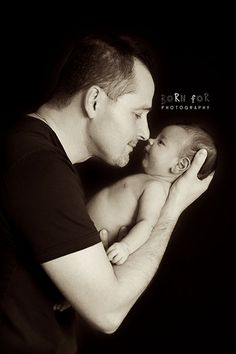 Born For Photography: Daddy and his 4 week old baby boy!