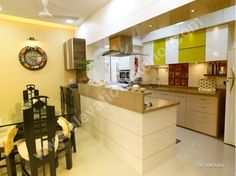 Hall Interior Design Kitchen In Residence Of Rama Rajiv Mehta By Elevation