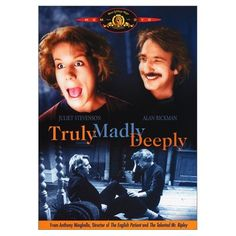 Truly Madly Deeply is an intelligent, moving, and deeply funny story about love and death. Nina (Juliet Stevenson), a scatterbrained professional translator, has lost the love of her life, Jamie (Die Hard's Alan Rickman). As her life (and her flat) slowly falls to pieces, she's inundated by an endless stream of repair men and eligible suitors. But rather than go on with life, Nina dwells on her dead love, slumped at her piano, endlessly playing half of a Bach duet.